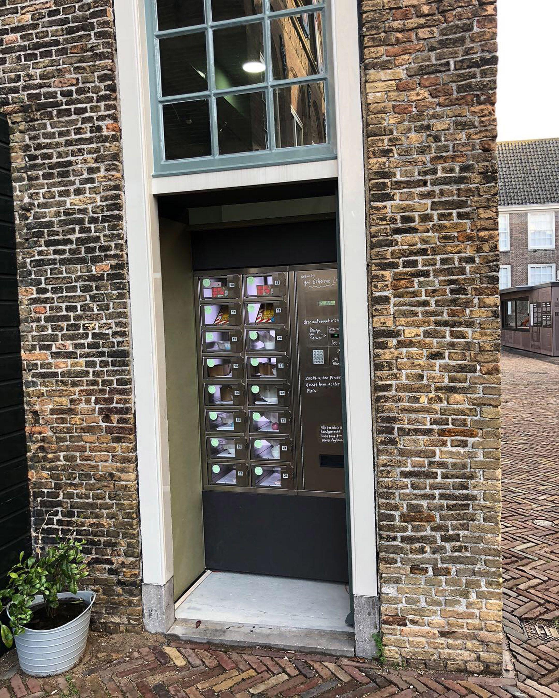Dutch designer Marije Vogelzang has installed a vending ...