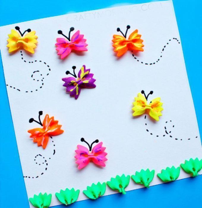 Детские весенние открытки своими руками