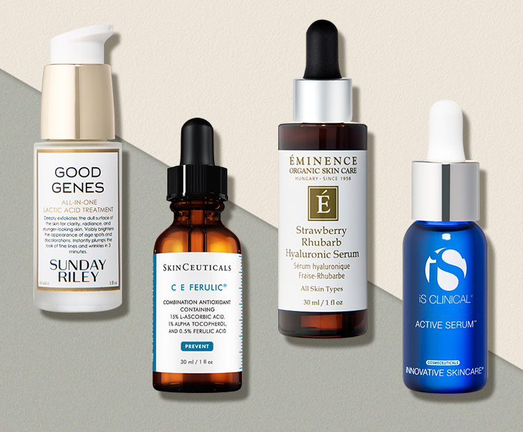 10 Face Serums That Will Banish Fine Lines And Wrinkles In 2020 Serum Face Serum Anti Aging Skin Products