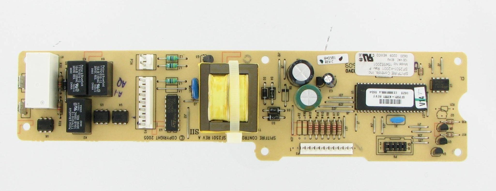 Frigidaire Electrolux Kenmore 154552001 Dishwasher Control Board Frigidaire Dishwasher Frigidaire Broken Appliance