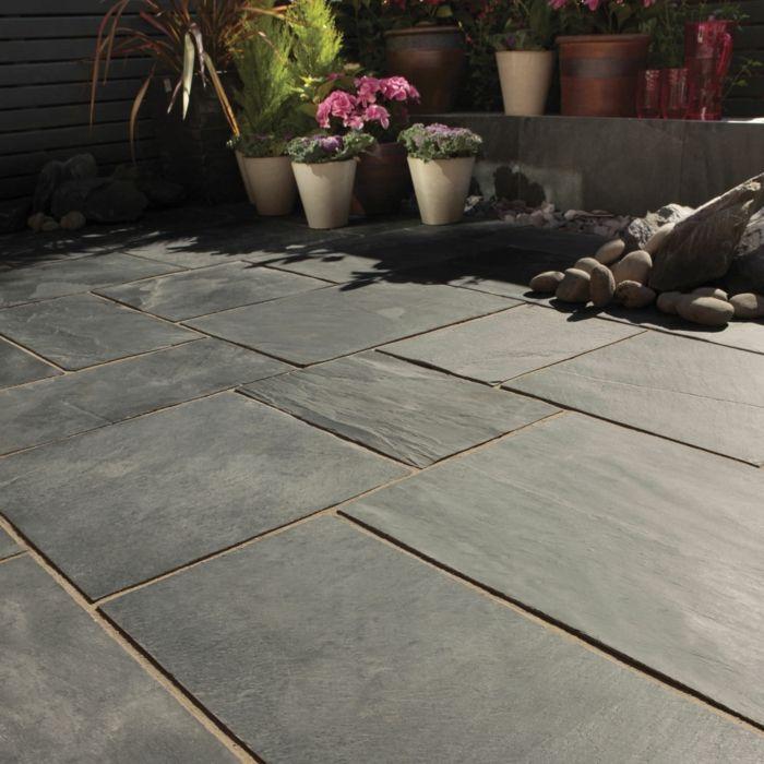 136 moderne gartengestaltung beispiele wie sie b den und for Garten steine platten