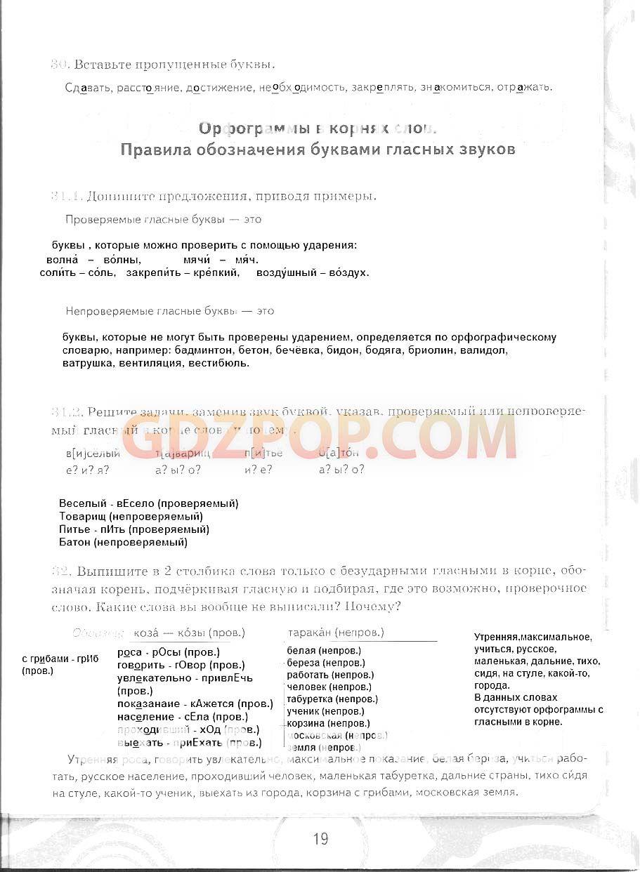 Гдз по русскому языку 6 класс сукунова 2001 год