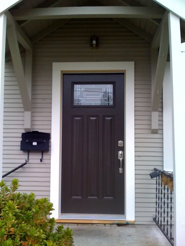 Front Door Paint Colors | New Exterior Paint Color U0026 Front Door: Just 2  Changes