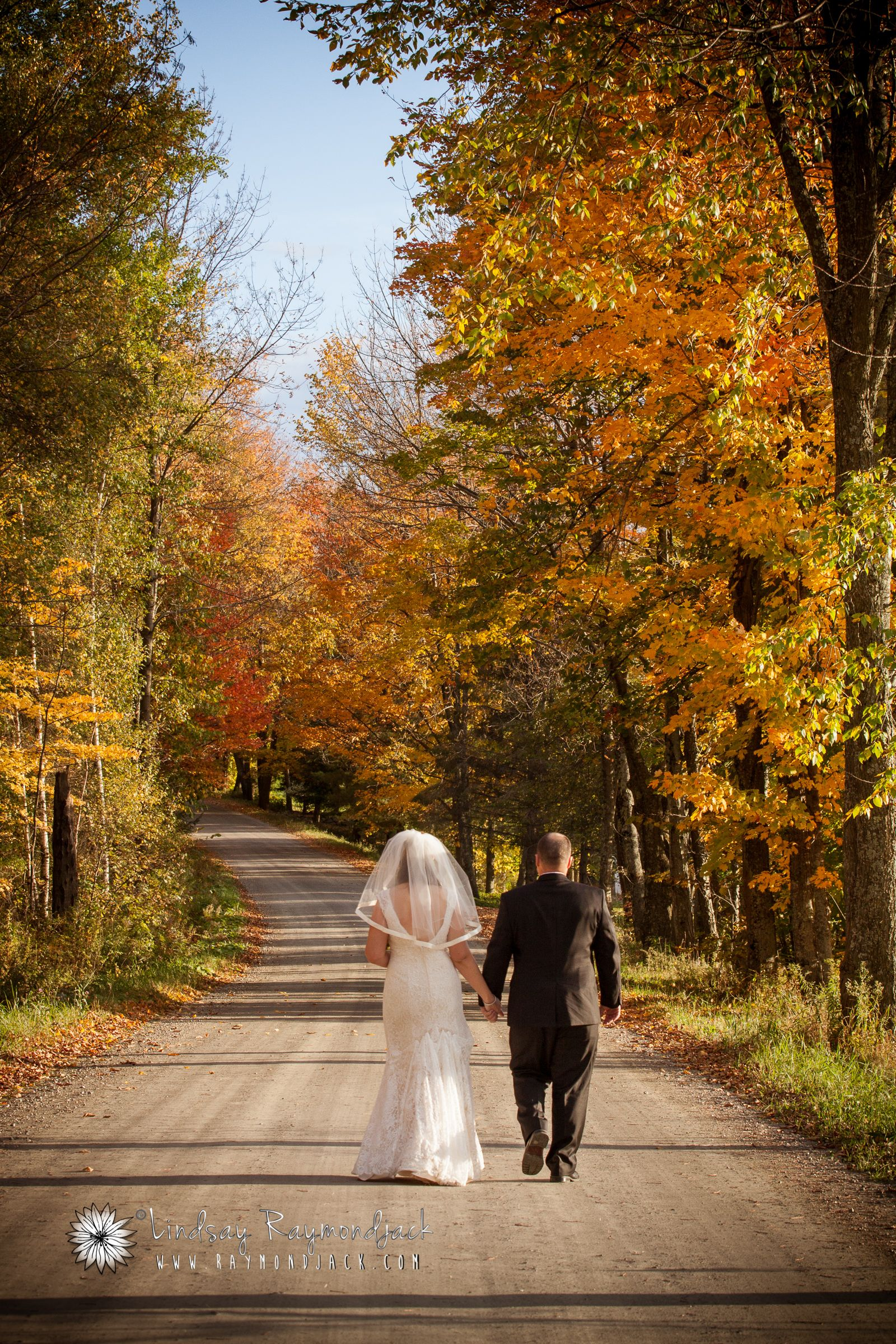 Fall Foliage wedding at B&B in Montgomery Center, Vermont ...
