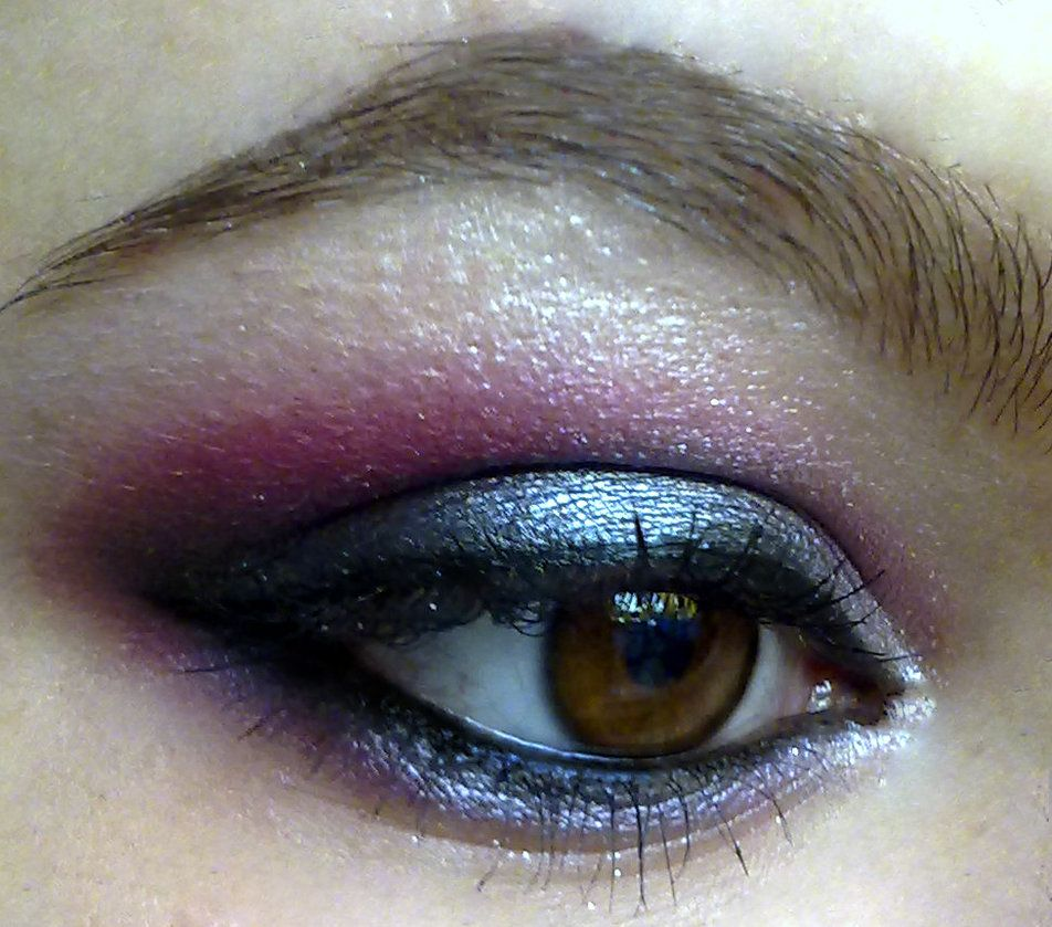 smokey pink look by KatelynnRose on DeviantArt