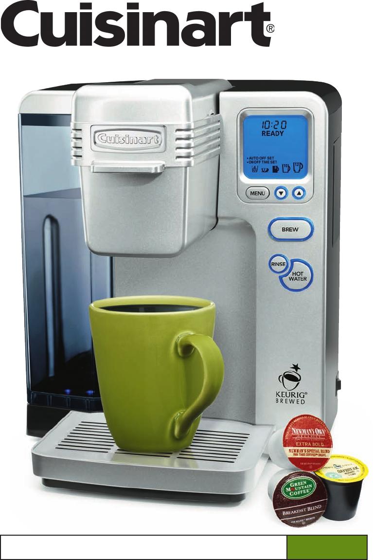 Cuisinart Keurig Coffee Maker Manual di 2020