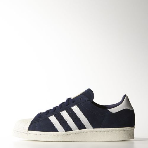 adidas Superstar 80s Vintage Deluxe Suede Shoes