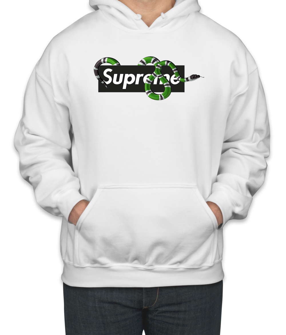 e6172fa948d Amazing Gucci King Snake x Supreme Unisex Hoodie