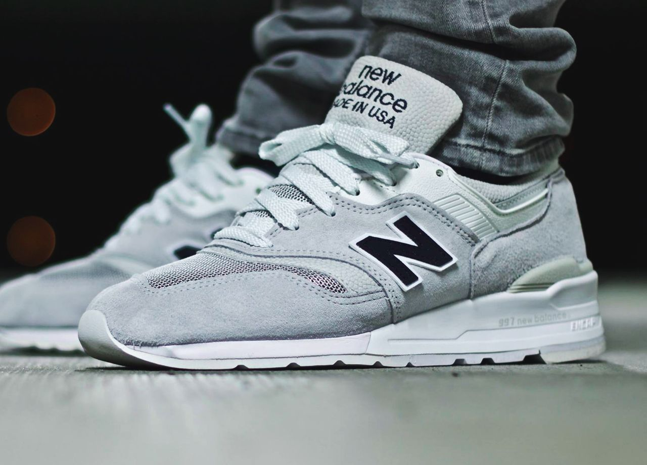 Best New Balance 997 Classic Black Purple Discount Outlet imsam1ntc