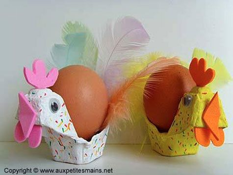 diy p ques activit s manuelles chocolats oeufs lapins poules occupez vos enfants. Black Bedroom Furniture Sets. Home Design Ideas