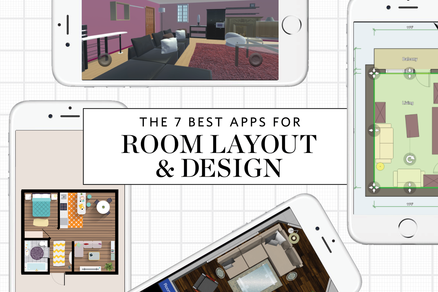 Tiny Home Design App: The 7 Best Apps For Planning A Room Layout & Design