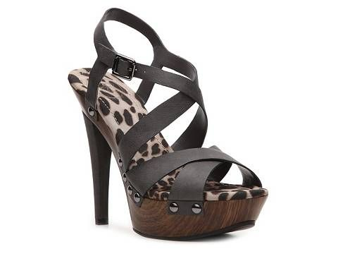 JS by Jessica Giana Sandal in charcoal grey