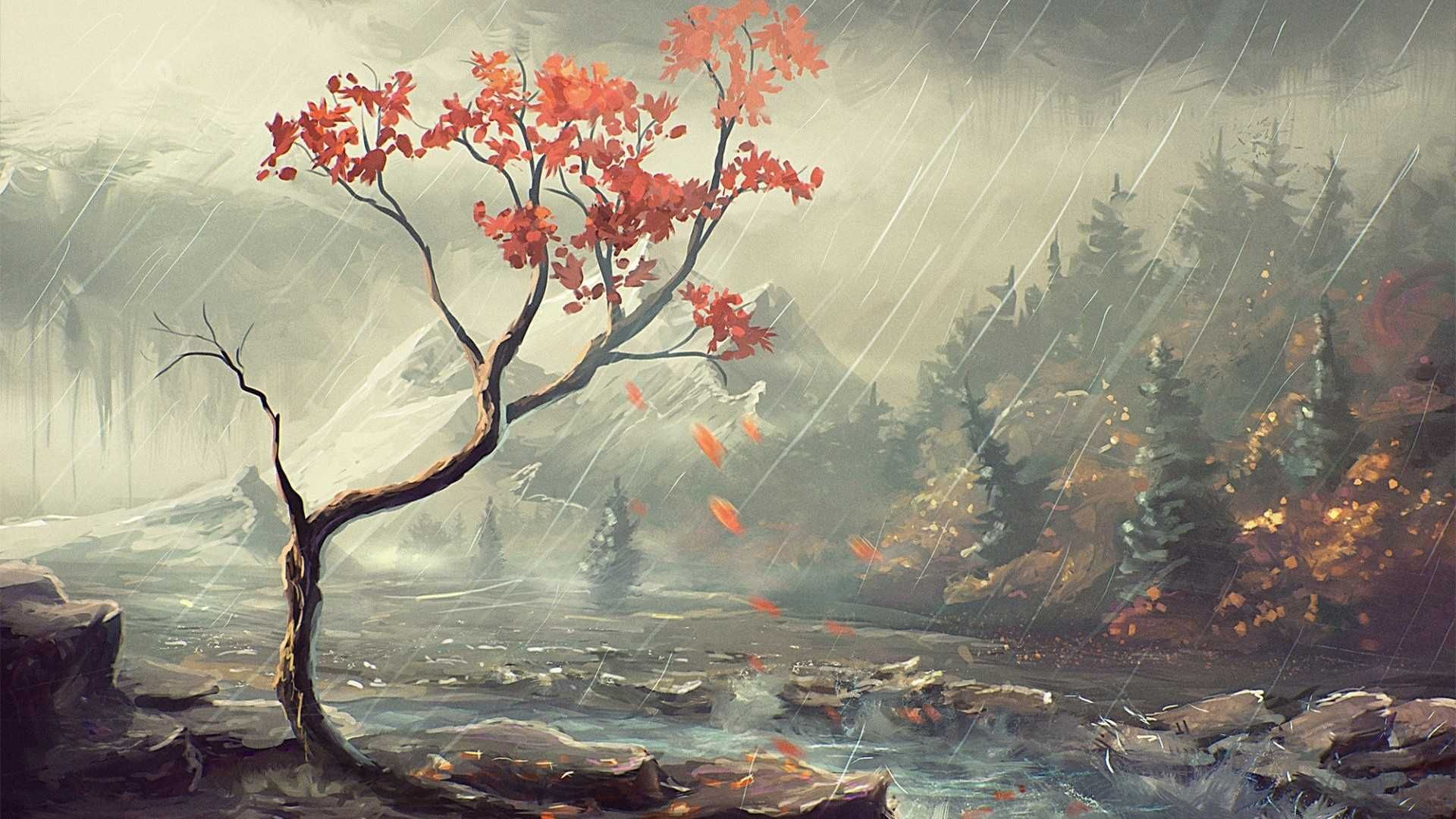 Chinese Painting Wallpaper Widescreen With Hd Desktop 1920x1080 Px
