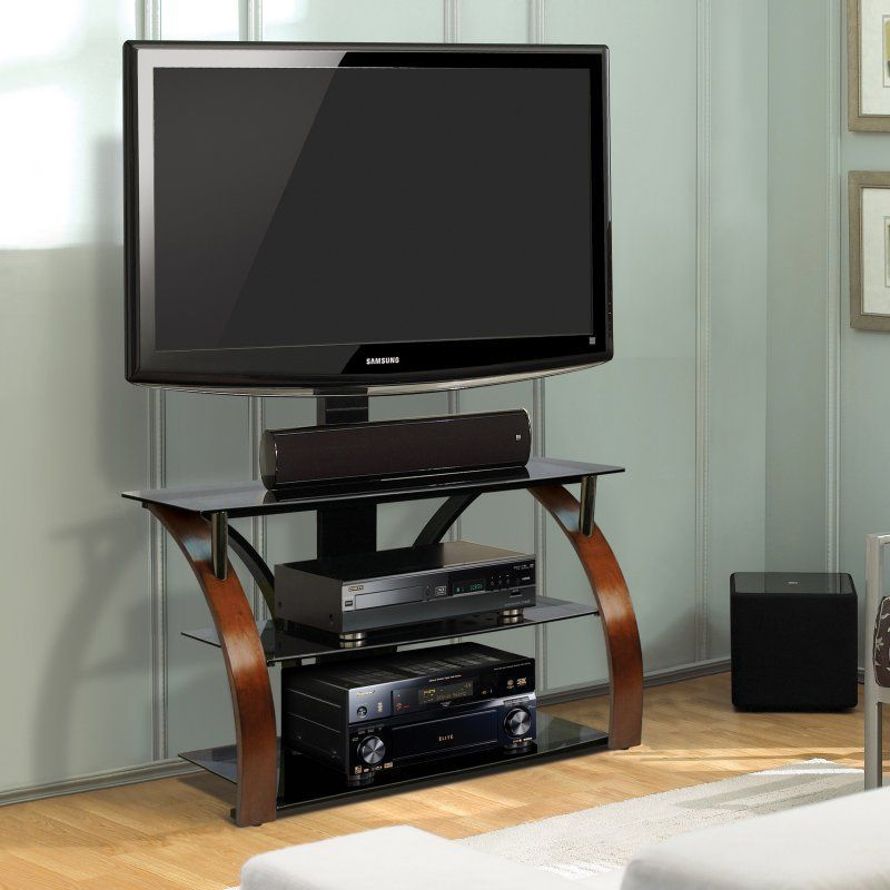Bello Triple Play 44 In Universal Flat Panel Tv Stand Vibrant