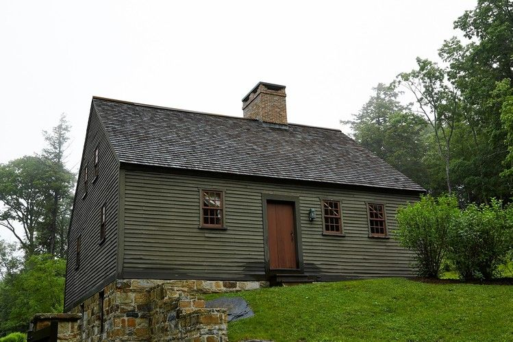 Restoring An 18th Century Farmhouse As A Guesthouse Colonial
