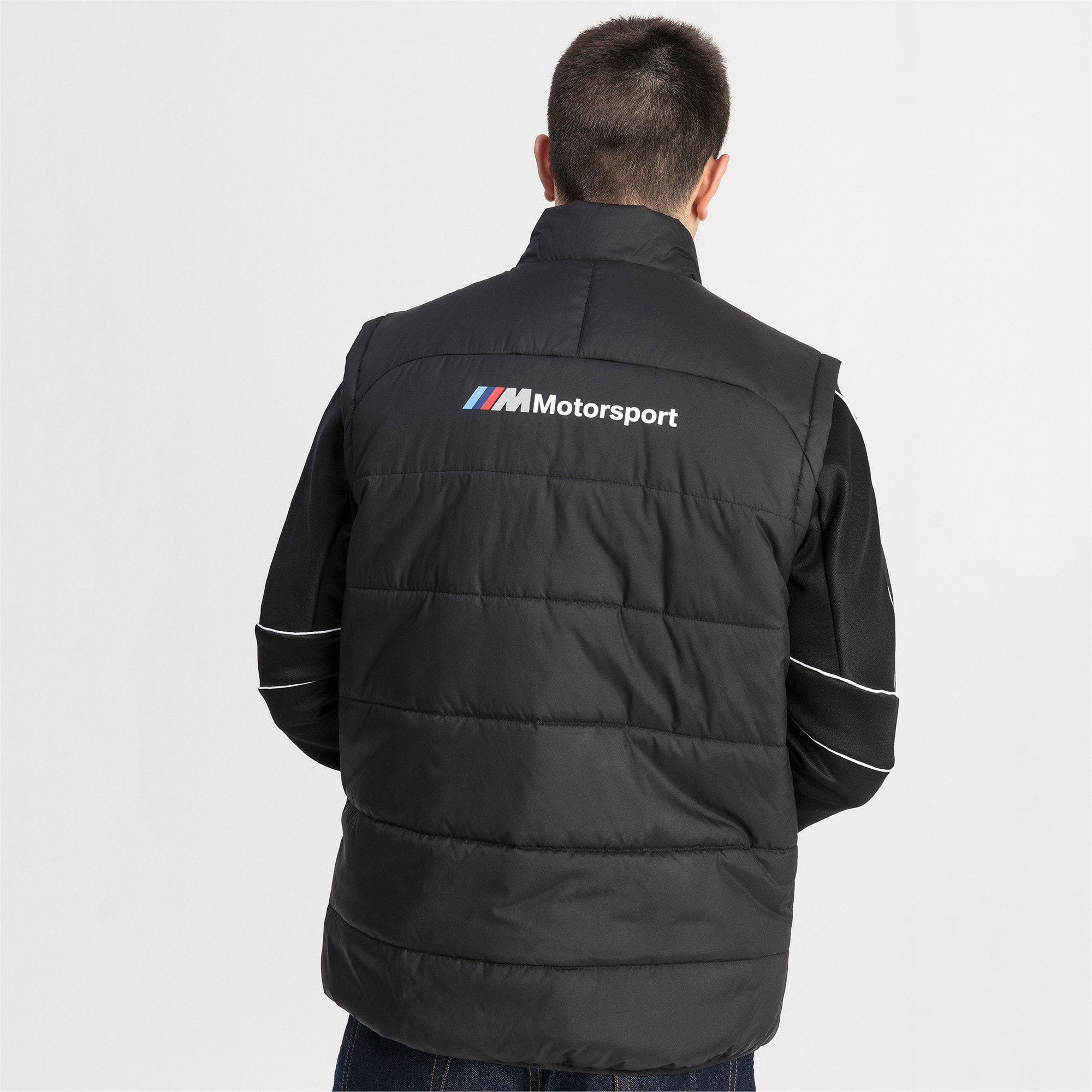 PUMA BMW M Motorsports Men's Padded Vest Men's Jacket in ...