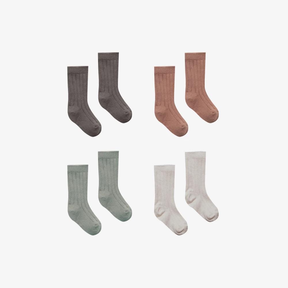 Organic Cotton Baby Socks Set Coal Clay Eucalyptus Stone Baby Socks Set Organic Cotton Baby Baby Socks