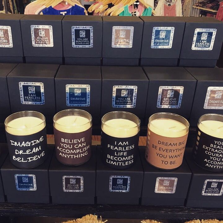 New Soy GoodWorks candles  smell great and burn clean. Available at our Mooresville location.