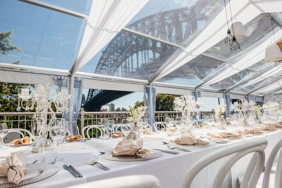 Beautiful Reception Venue With A Spectacular View Bridge Pier