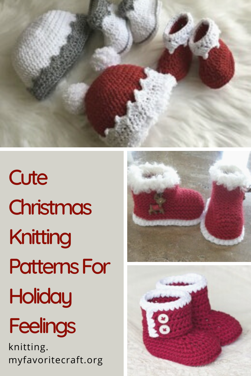 Christmas Knitting Patterns For Holiday Feelings In 2020 Christmas Knitting Patterns Christmas Knitting Knitting Patterns
