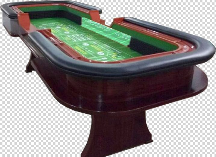 10 foot Premium Craps table with extra features - green