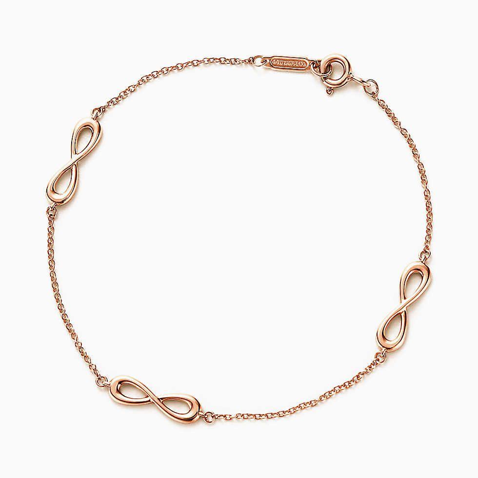 637484361 Tiffany Infinity endless bracelet in 18k rose gold, medium. | Dream ...