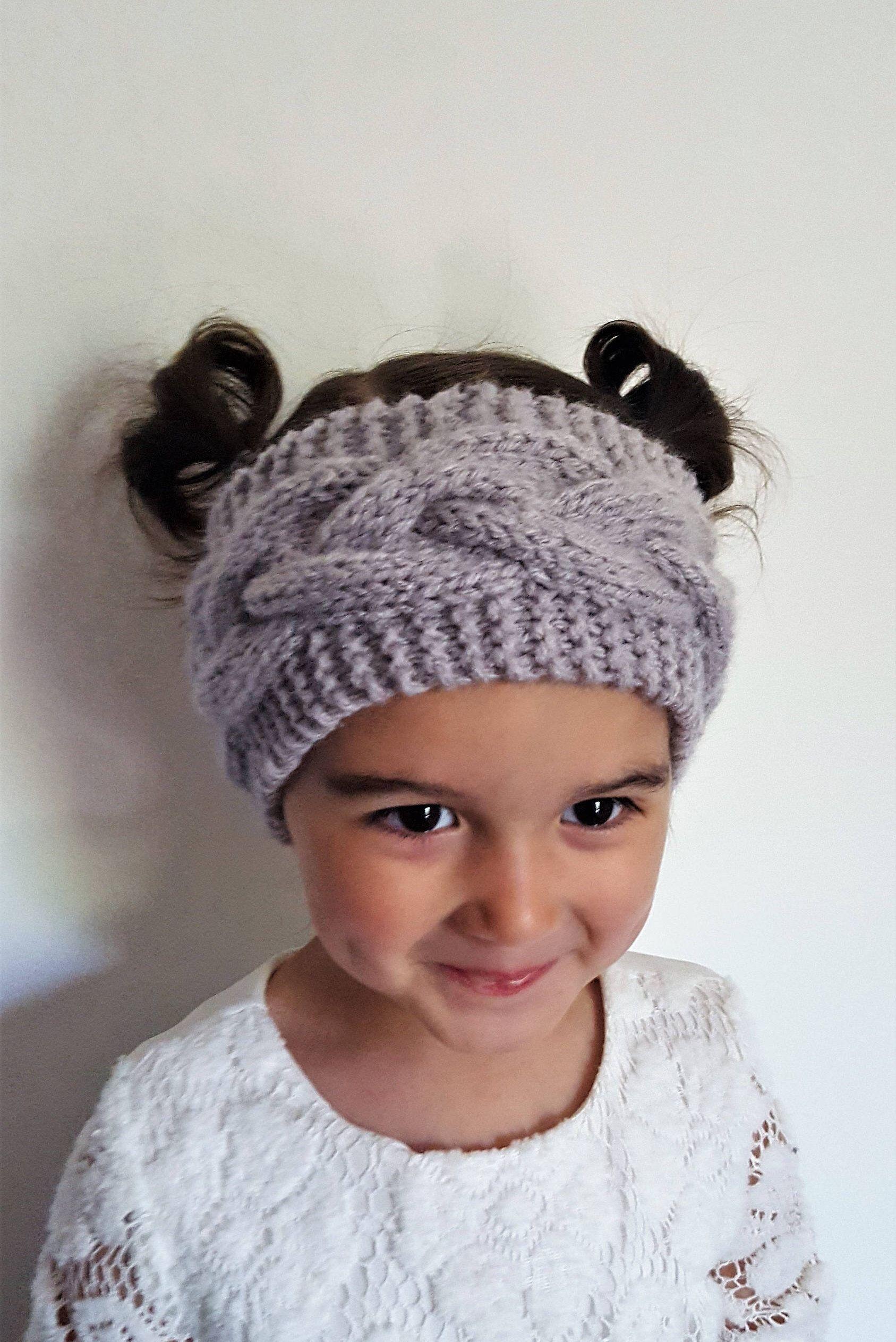 Bohemian Ear Warmer, Knit PATTERN Adult Boho Headband ...