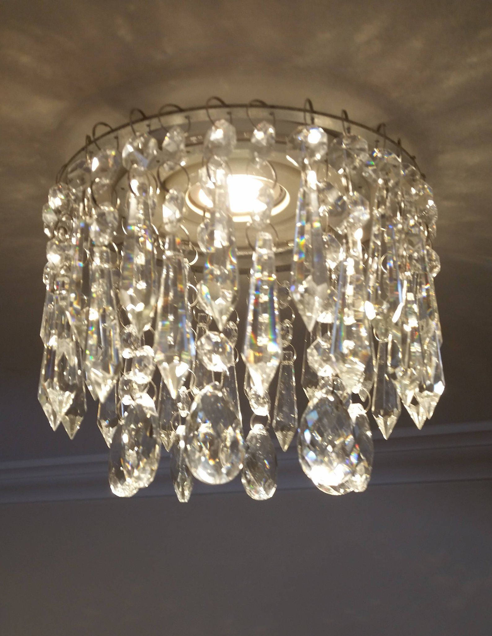 Luxe Crystal For Recessed Light With Magnet For Pot Light Betsy Pendant Mini Chandelier Pot Lights Recessed Lighting