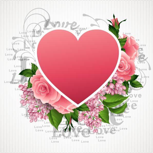 Images St Valentin Formes De Coeur Valentine Coeurs Roses