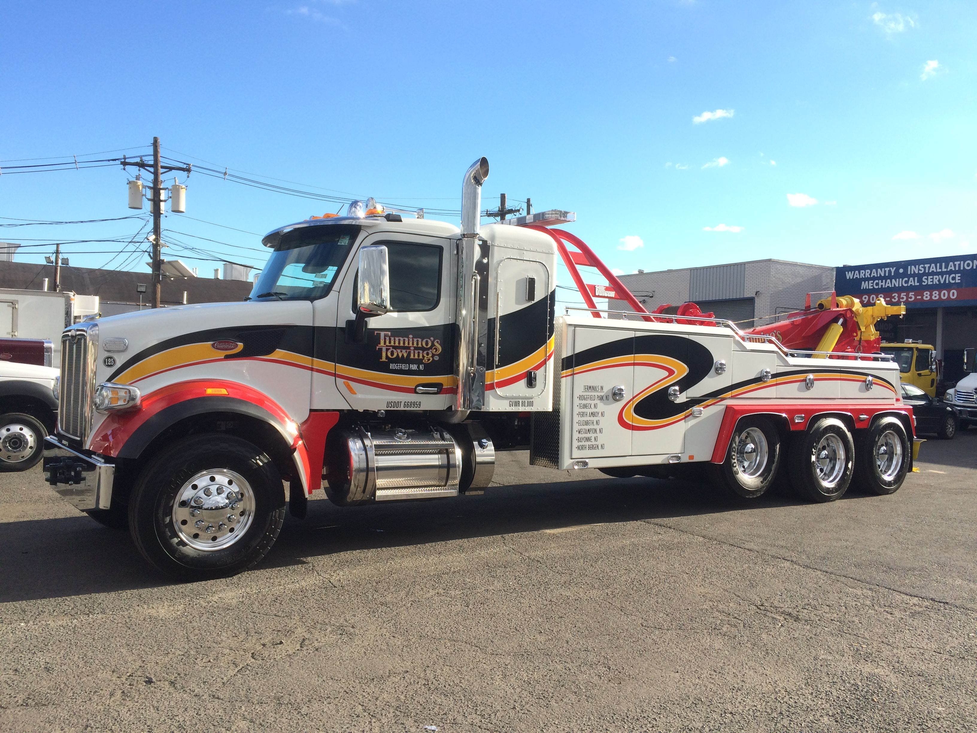 Great Company They Bought High Point New Jersey Tow Truck Trucks Peterbilt Trucks