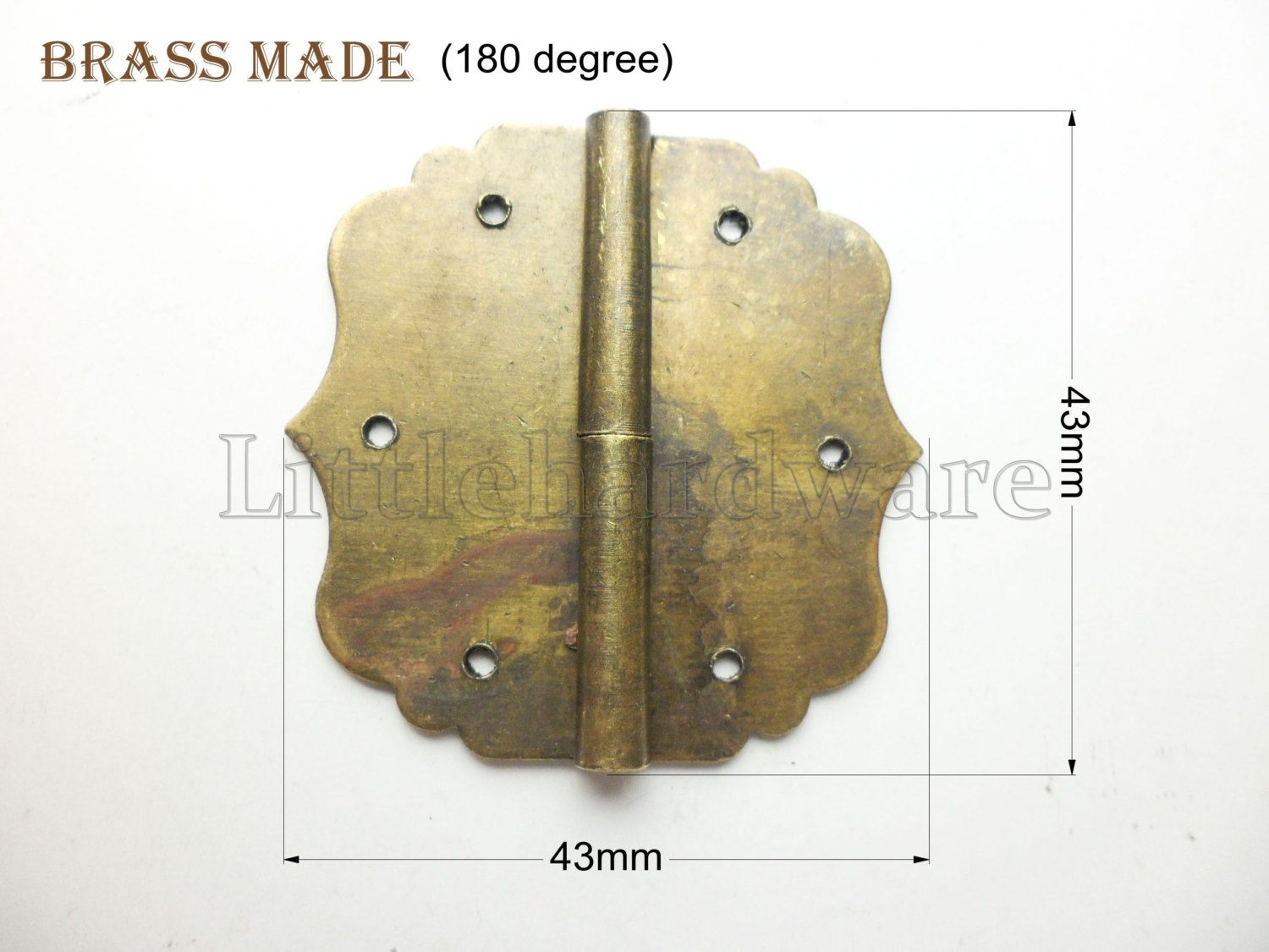 2 Pcs Brass Made 43mmx43mm Crown Metal Hinges Parliament Hinges Jewelry Box Hinges Decorative Hinges Vh0067 Decorative Hinges Antique Hinges Jewelry Box Hinges