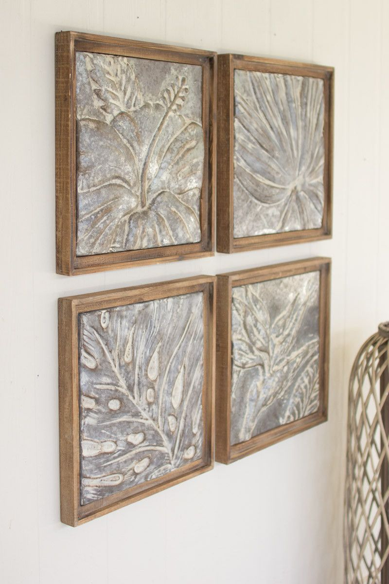 Hung Up Throughout Your Home This Set Of Four Tiles Is A Gorgeous
