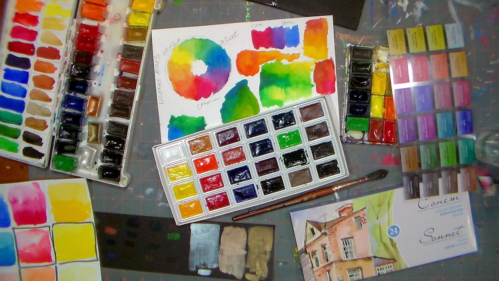 Review Of Sonnet Russian Watercolors Sonnet Vs Yarka St