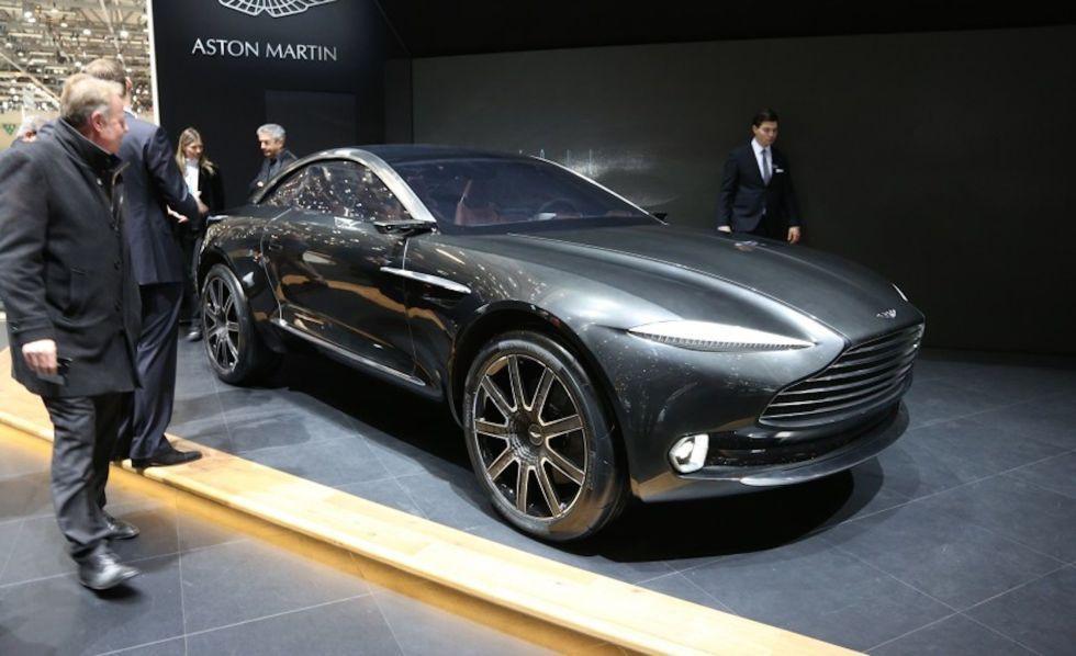 Aston Martin will build a 1,000-hp electric Rapide