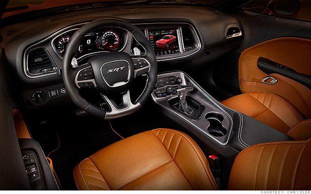 Inside the Chrysler's new 707 horsepower Dodge Challenger | Glorious