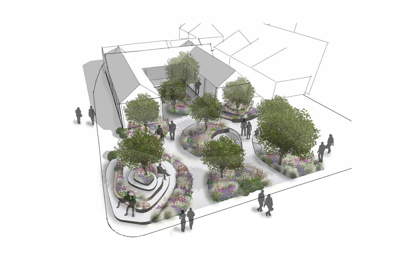 Garden design garden design landscaping project