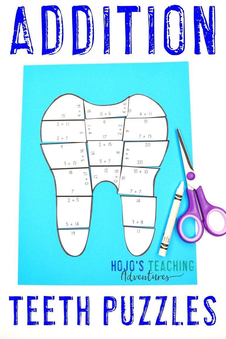 Addition Dental Health Activities Or Fun Teeth Worksheet Alternatives Health Activities Dental Health Activities Dental Health [ 1152 x 768 Pixel ]