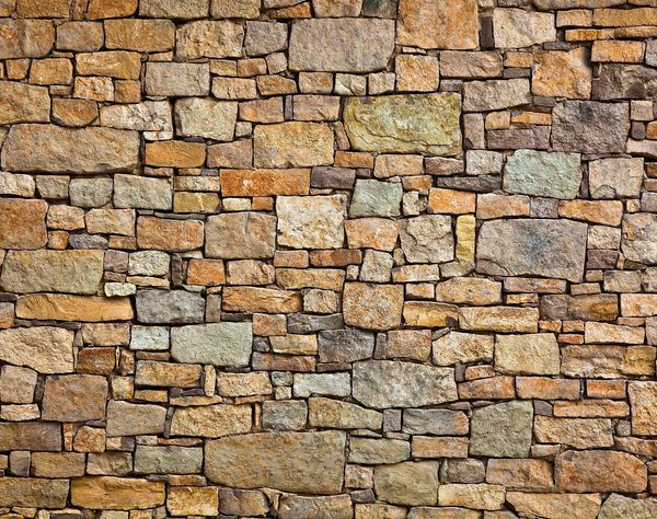 This Demonstrates How Wallpaper Can Be Made To Look Like Natural Substances This Can Help To Create A Featu Brick Wall Wallpaper Stone Wall Custom Wall Murals