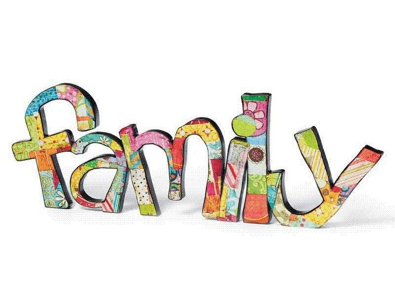 Best Family Forever Vision Board Family Clipart Word Families