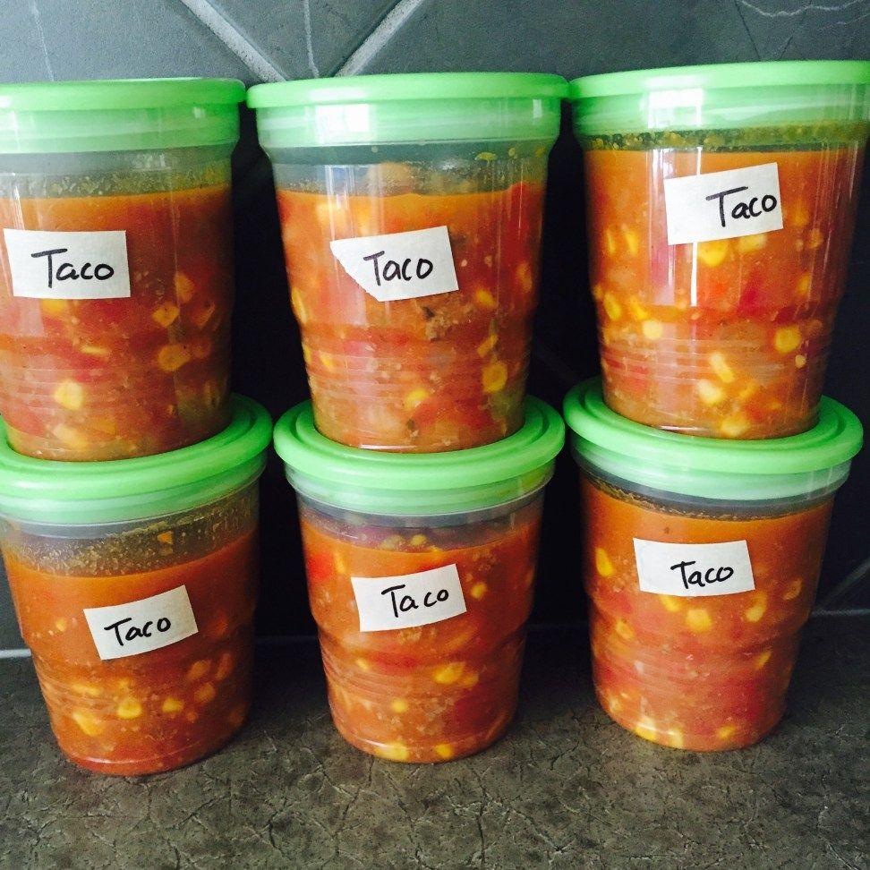 Freezer Mexican Fiesta Soup