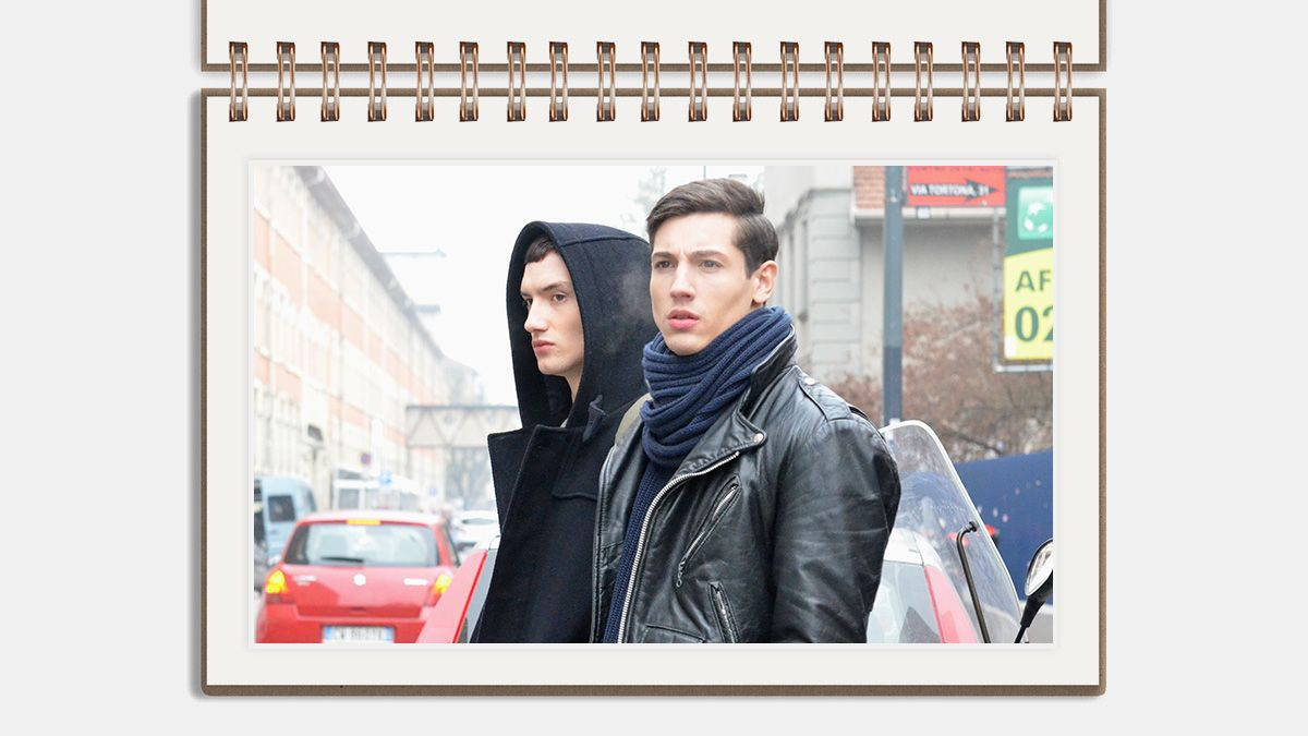 Five Ways To Tie Your Scarf | The Edit | The Journal | Issue 196 | 18 December 2014 | MR PORTER