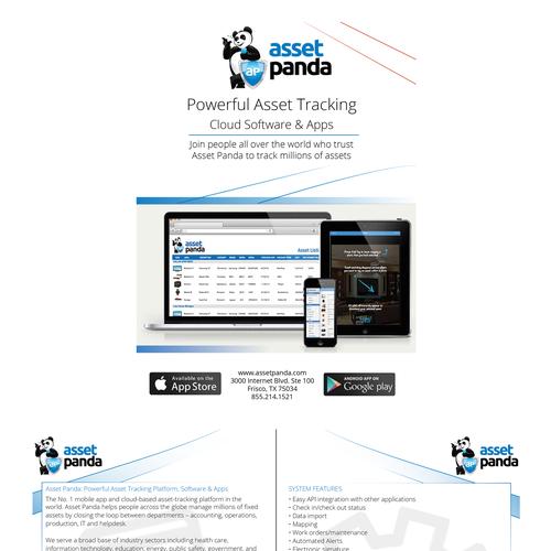 Digital Brochure for Asset Panda Brochure contest design#brochure