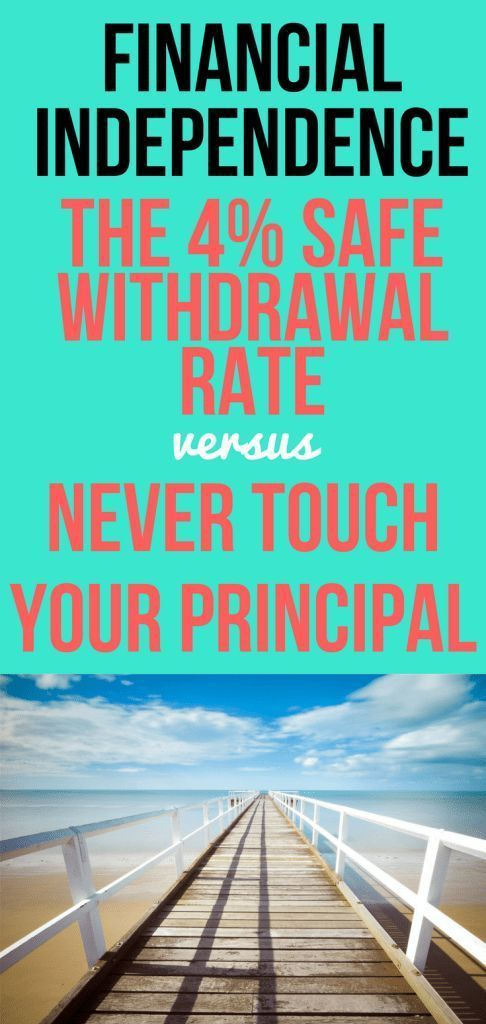 The 4% Safe Withdrawal Rate (SWR) vs Never Touch Your Principal (NTYP) - Genymoney.ca