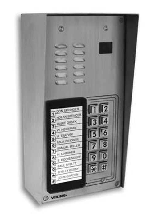 K 1205 With Enhanced Weather Protection Vk K 1205 Ewp By Viking Electronics Phone Apartment Entry Door Strikes