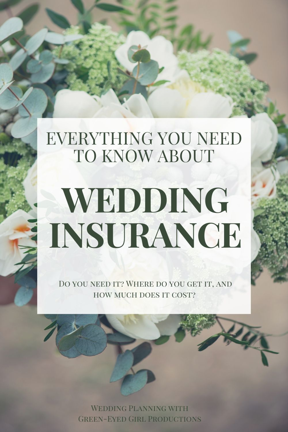 Wedding Insurance Do You Really Need It Green Eyed Girl Productions In 2020 Wedding Ceremony Outline Wedding Planner Binder Morning Wedding