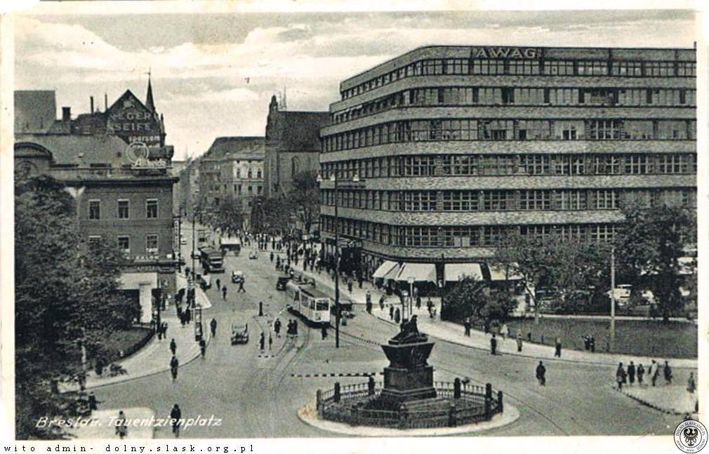 AWAG(PDT/Renoma) na Tauentzien Platz.