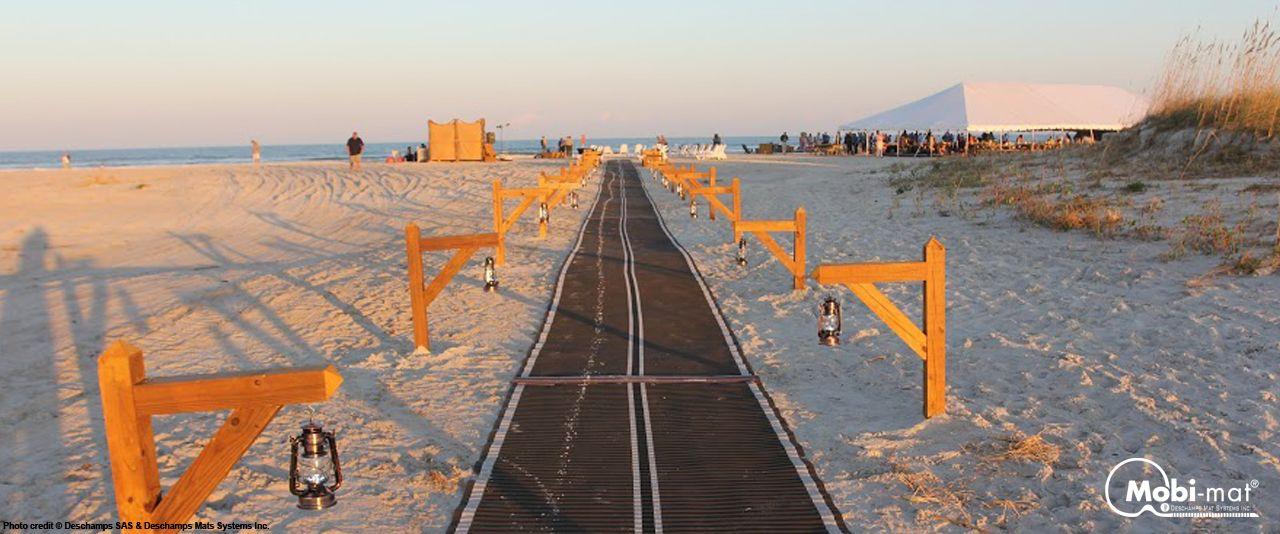 Mobi Mat Recpath Rollout Ada Beach Access Mat Beach Adaptive Sports Access