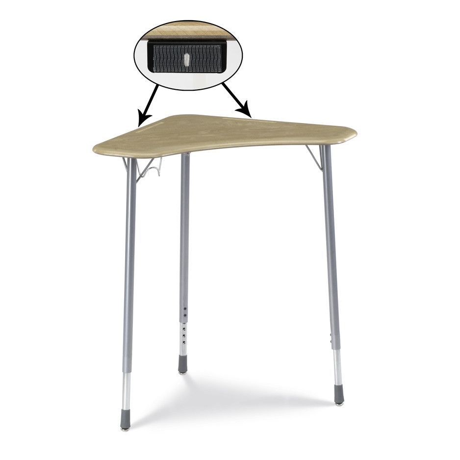 Zuma Plastic Student Desk (Set of 2)