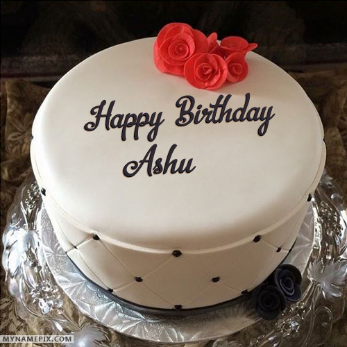 happy birthday ashu cake