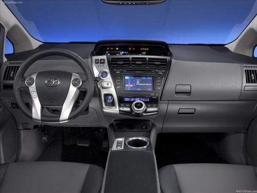 Inside The Prius V Toyota Prius Tuning Toyota Prius Toyota Racing Development